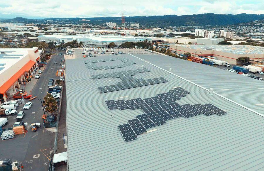 DHX solar microgrid