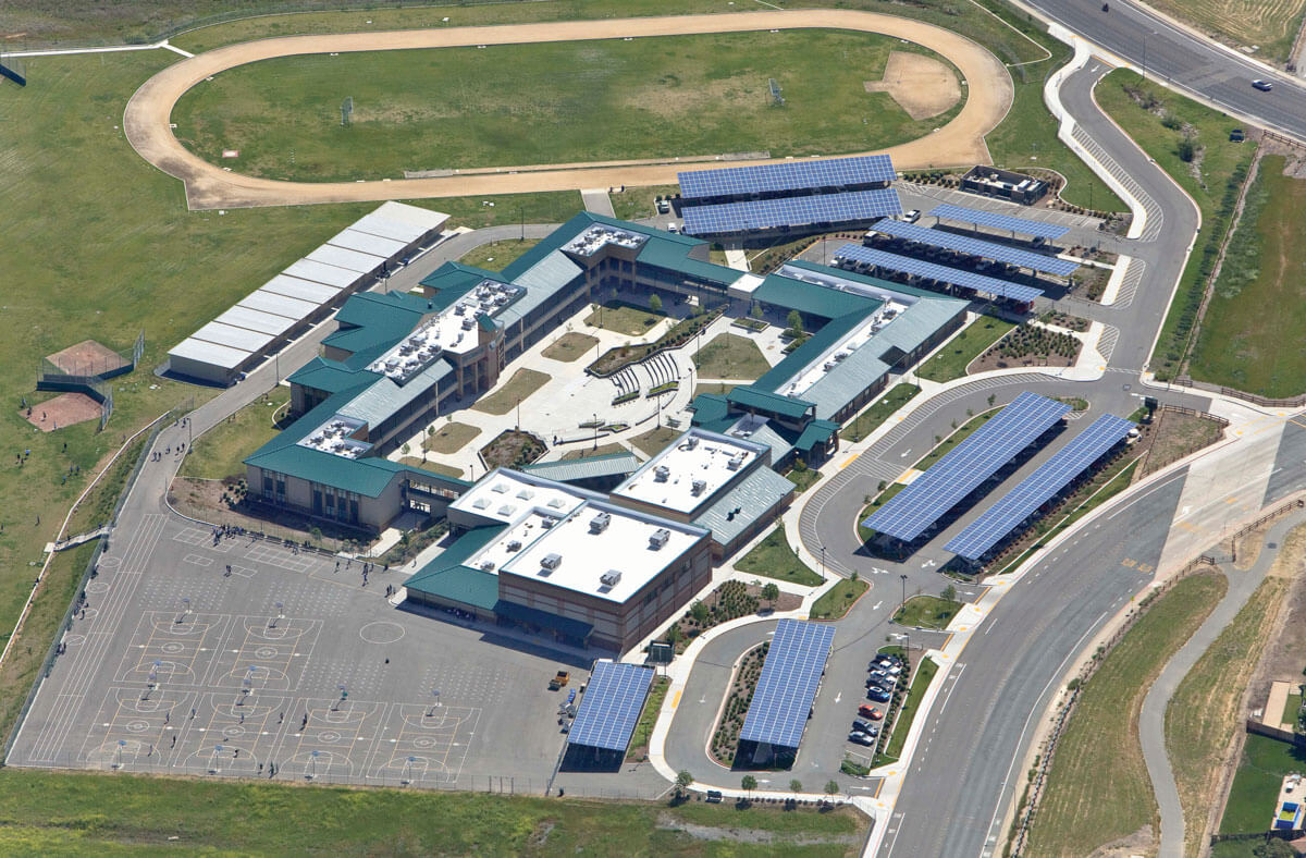 pittsburgh unified school district rooftop carport solar arrays