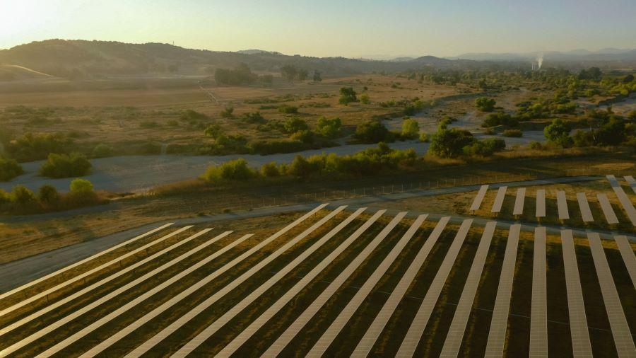 solar array at firestone walker brewing company