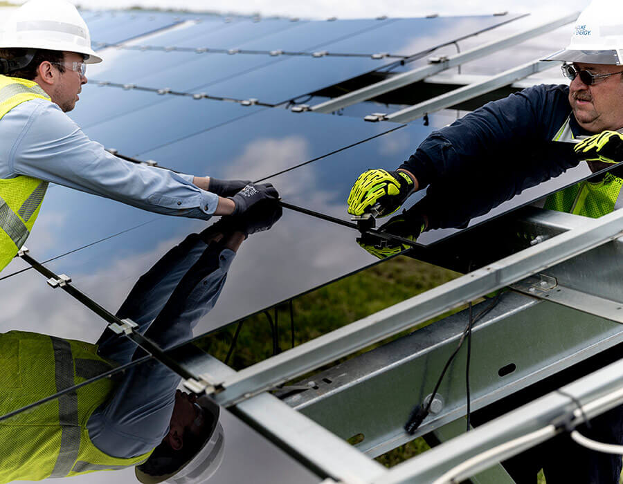 Cleaning of Solar Panel