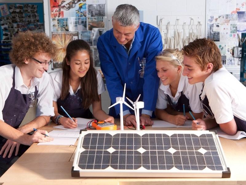 renewable energy for schools and universities
