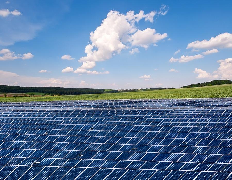 ground mount solar farm
